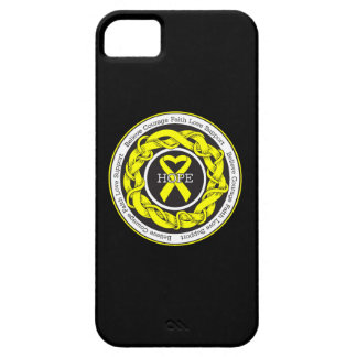 Suicide Prevention Hope Intertwined Ribbon iPhone SE/5/5s Case