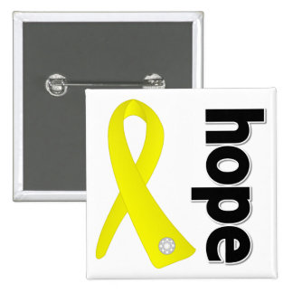 Suicide Prevention Hope Ribbon Pins
