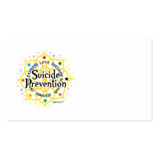 Suicide Prevention Lotus Business Card