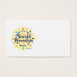 Suicide Prevention Lotus Business Card