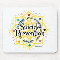 Suicide Prevention Lotus Mouse Pad