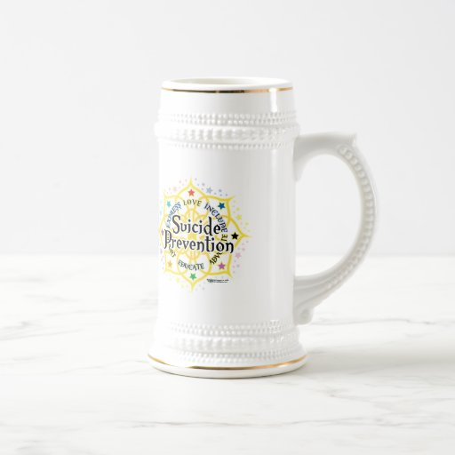 Suicide Prevention Lotus Mug