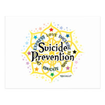 Suicide Prevention Lotus Postcard
