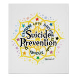Suicide Prevention Lotus Poster