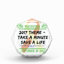 Suicide Prevention Month 2017 Award