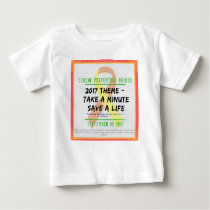Suicide Prevention Month 2017 Baby T-Shirt