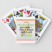 Suicide Prevention Month 2017 Bicycle Playing Cards