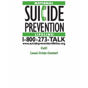 Suicide Prevention POSTER shirt