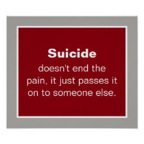 Suicide Prevention Quote Poster