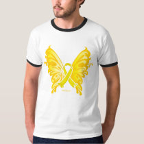 Suicide Prevention Ribbon Butterfly T-Shirt