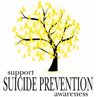 Suicide Prevention Tree Cutout