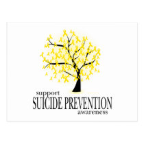 Suicide Prevention Tree Postcard