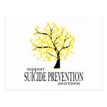 Suicide Prevention Tree Postcard