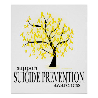 Suicide Prevention Tree Poster