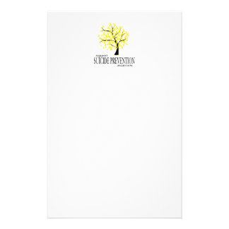 Suicide Prevention Tree Stationery