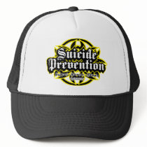 Suicide Prevention Tribal Trucker Hat