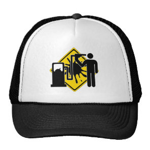 Suicide pumper trucker hat
