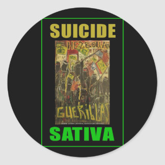 SUICIDE SATIVA STICKERS