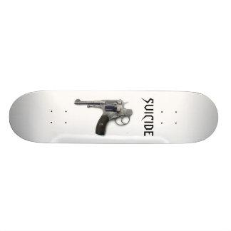 Suicide skateboard
