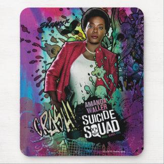 Suicide Squad | Amanda Waller Character Graffiti Mouse Pad