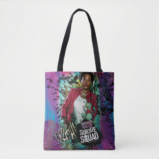 Suicide Squad | Amanda Waller Character Graffiti Tote Bag