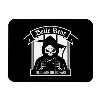 Suicide Squad | Belle Reve Reaper Graphic Rectangular Photo Magnet