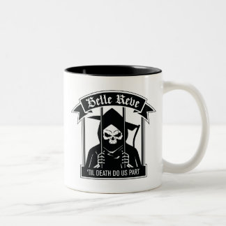 Suicide Squad   Belle Reve Reaper Graphic Two-Tone Coffee Mug