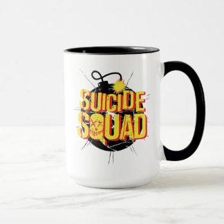 Suicide Squad   Bomb Logo Mug