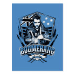 Suicide Squad | Boomerang Badge Postcard