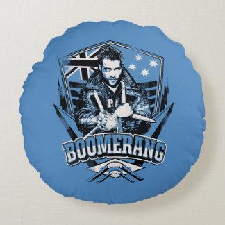 Suicide Squad | Boomerang Badge Round Pillow