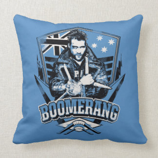 Suicide Squad | Boomerang Badge Throw Pillow