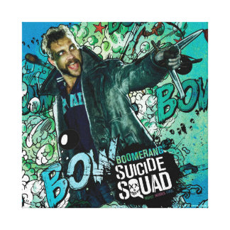 Suicide Squad | Boomerang Character Graffiti Canvas Print