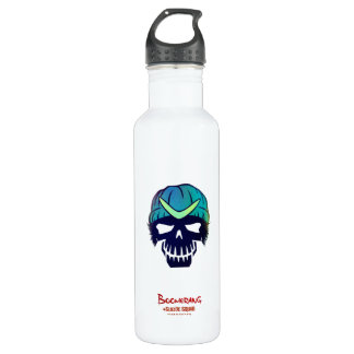 Suicide Squad | Boomerang Head Icon Water Bottle