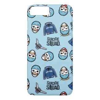 Suicide Squad | Captain Boomerang Emoji Pattern iPhone 7 Plus Case