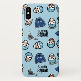 Suicide Squad | Captain Boomerang Emoji Pattern iPhone X Case