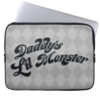 Suicide Squad   Daddy's Lil Monster Laptop Sleeves