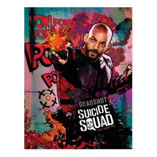 Suicide Squad | Deadshot Character Graffiti Postcard