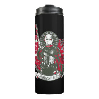 "Suicide Squad | Deadshot ""I am the Light"" Thermal Tumbler"