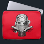 "Suicide Squad | Deadshot Mask &amp; Guns Tattoo Art Computer Sleeve<br><div class=""desc"">Check out this tattoo art inspired Deadshot graphic,  featuring his mask and guns with bullet hole marks.</div>"