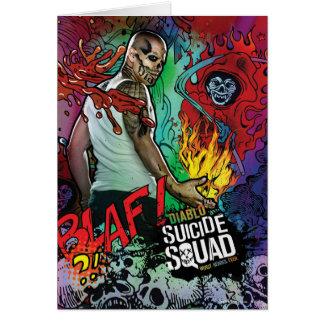Suicide Squad | Diablo Character Graffiti Card