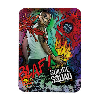 Suicide Squad | Diablo Character Graffiti Magnet