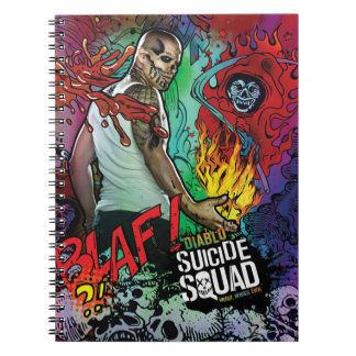 Suicide Squad | Diablo Character Graffiti Notebook