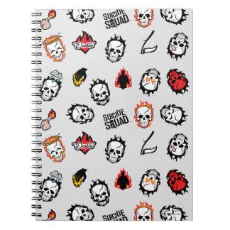 Suicide Squad | Diablo Emoji Pattern Notebook