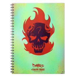 Suicide Squad | Diablo Head Icon Notebook