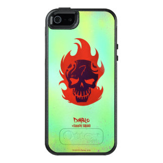 Suicide Squad | Diablo Head Icon OtterBox iPhone 5/5s/SE Case