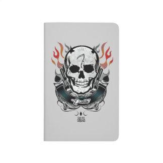 Suicide Squad   Diablo Skull & Flames Tattoo Art Journal