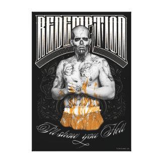 "Suicide Squad   El Diablo ""Redemption"" Tattoo Canvas Print"