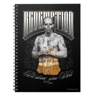 "Suicide Squad | El Diablo ""Redemption"" Tattoo Notebook"