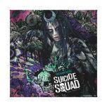 Suicide Squad | Enchantress Character Graffiti Canvas Print