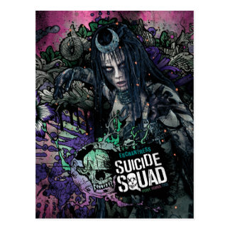 Suicide Squad   Enchantress Character Graffiti Postcard